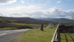 A view from one of the passes between Wensleydale and Swaledale